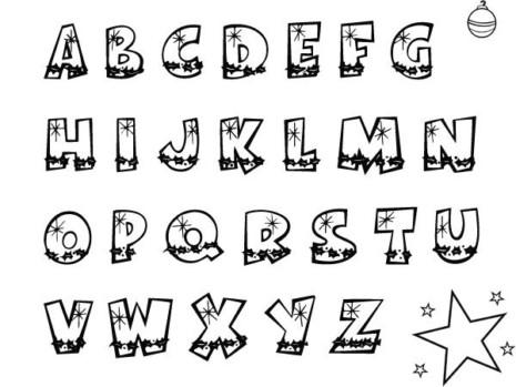 Im genes del abecedario para descargar e imprimir - Literas divertidas para ninos ...