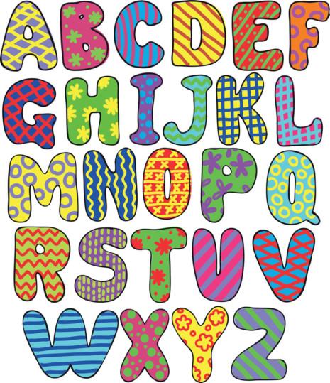 ¿Cómo hacer una imagen formada por letras? | Diseño