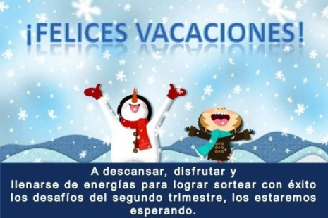 Bienvenidas VACACIONES! Imágenes BONITAS con Frases Lindas ...