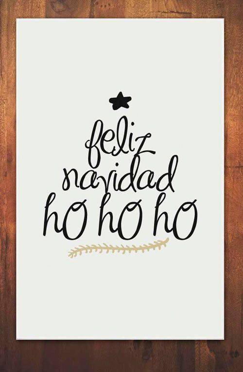 Carteles con frases bonitas para decorar en navidad - Frases para felicitar navidad empresas ...
