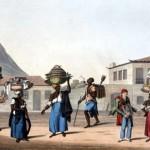 Frases, pregones y dichos de vendedores ambulantes de la época colonial: Imágenes del 25 de mayo 1810