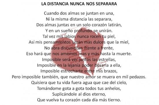 poemas de amor a distancia