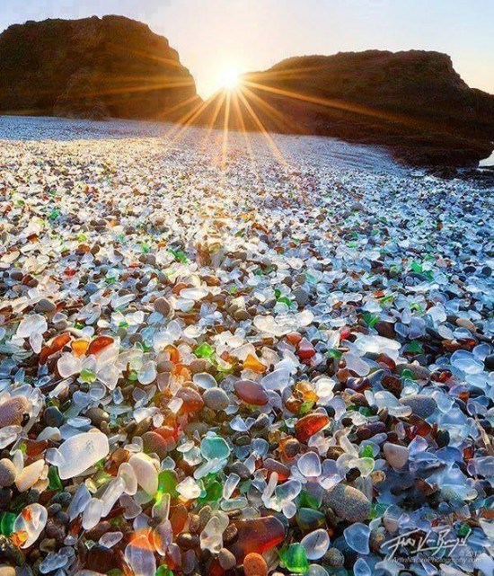 playa de cristal en california