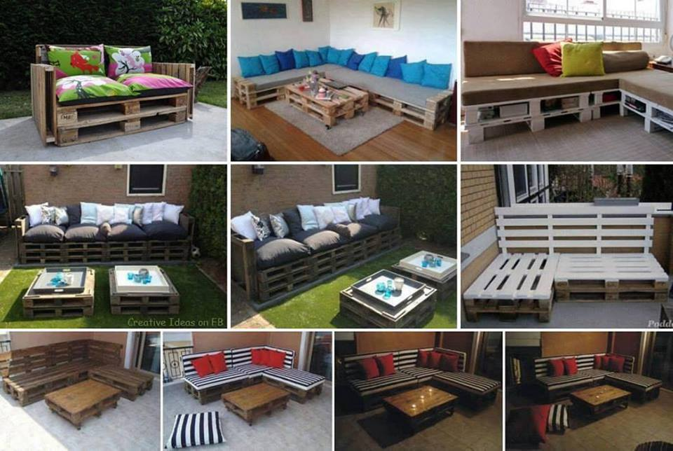 Ideas creativas cn pallets