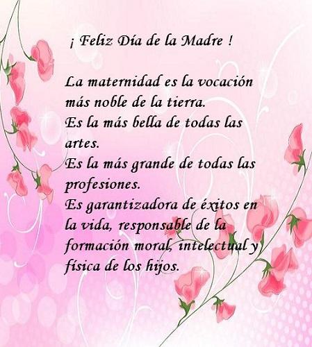 fondo de flores rosado feliz día de la madre