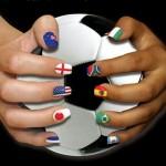 Imágenes con uñas pintadas con banderas para los Juegos Olímpicos o el Mundial: Nail Art