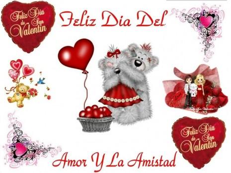 Feliz Dia Del Amor Y La Amistad Para Compartir En Whatsapp