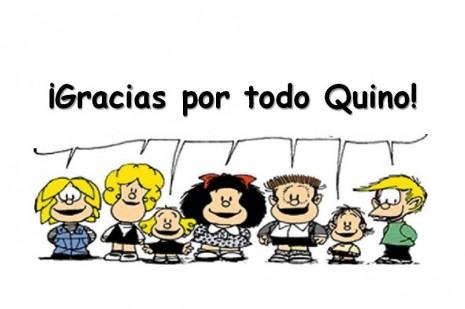 Gracias por todo Quino!