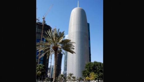 edificioThe Doha Tower es el edificio más alto en el Oriente Medio y África