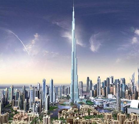 edificioburj dibai, emiratos arabes unidos