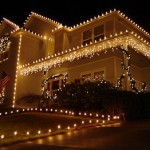 Ideas creativas con luces navideñas