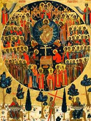 santos solemnidad de todos los santos