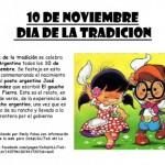 10 de Noviembre – Día de la Tradición
