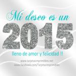 Imágenes con los mejores deseos para el Año 2015
