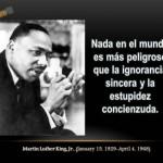 Imágenes y frases célebres de Martin Luther King