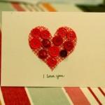 Tarjetas caseras para WhatsApp para regalar en San Valentín