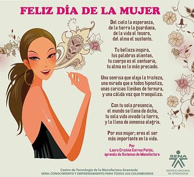 Imágenes Con Frases Bonitas Del Día De La Mujer Para Whatsapp
