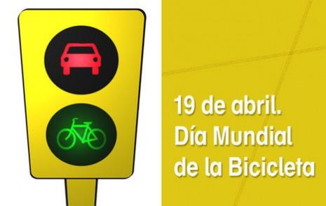 19 De Abril Día Mundial De La Bicicleta Para Compartir