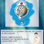 Tarjetas 7 de Abril – Día Mundial de la Salud: Mensajes para cuidar la salud para WhatsApp