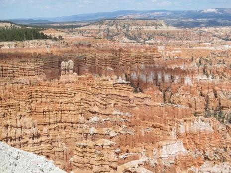 El parque nacional del Cañón Bryce, en Utah, Estados Unidos,