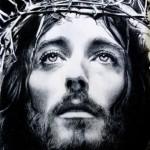 Imágenes del rostro de Jesucristo en blanco y negro para WhatsApp: Dibujos de caras de Cristo para WhatsApp