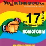 Carteles del Día Internacional contra la Homofobia y la Transfobia