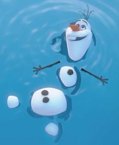 Olaf_agua