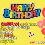 Imágenes de Felíz Cumpleaños con frases para felicitar