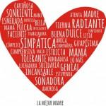 Imágenes con corazones de Felíz Día Mamá para compartir el Día de la Madre