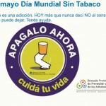 31 de Mayo – Día Mundial sin Tabaco para Whatsapp
