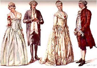 Vestimenta Tradicional De La época Colonial De 1810