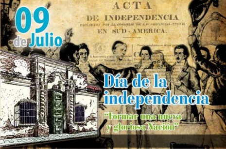 09 de Julio - Independencia de la Argentina