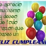 Felíz cumpleaños y deseos lindos en imágenes para compartir en WhatsApp
