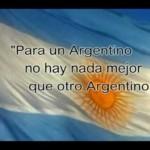 Imágenes de la Bandera Nacional Argentina con frases alusivas
