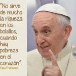 Imágenes con frases del Papa Francisco para descargar y compartir en WhatsApp