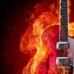 Imágenes de portadas de guitarras eléctricas para Facebook gratis