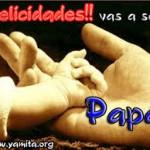 Imágenes con frases tiernas para un futuro Papá