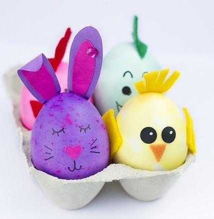 pintarhuevos-de-pascua-con-forma-de-animales