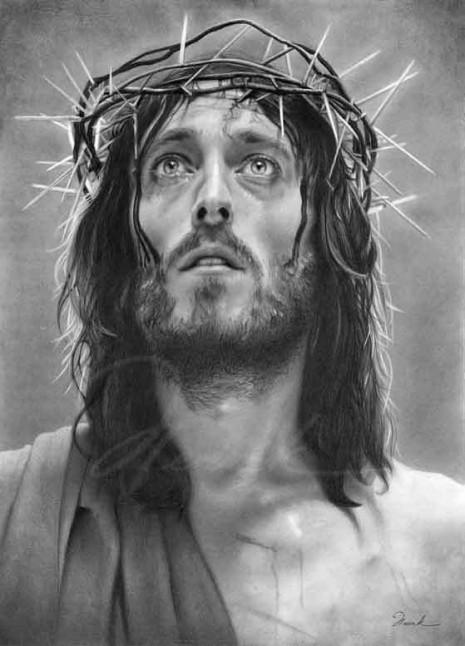 Cristojesus En Blanco Y Negro 2 Imágenes Con Frases Bonitas