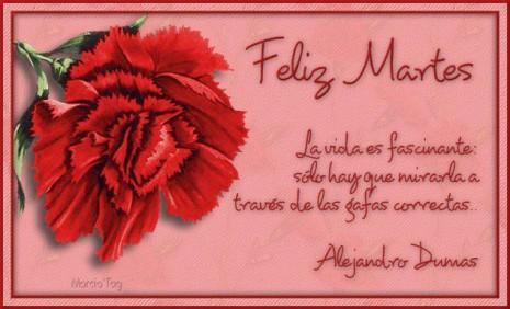 imágenes y Frases de Feliz Dia Martes  (7)