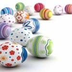 Originales imágenes con huevos de pascua decorados para WhatsApp