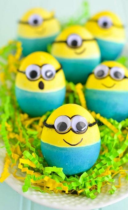 Como-decorar-huevos-de-pascua-como-minions-1