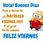 Frases Bonitas con mensajes de Felíz viernes en imágenes
