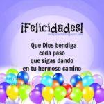 Feliz cumpleaños con bonitas imágenes, palabras y pensamientos