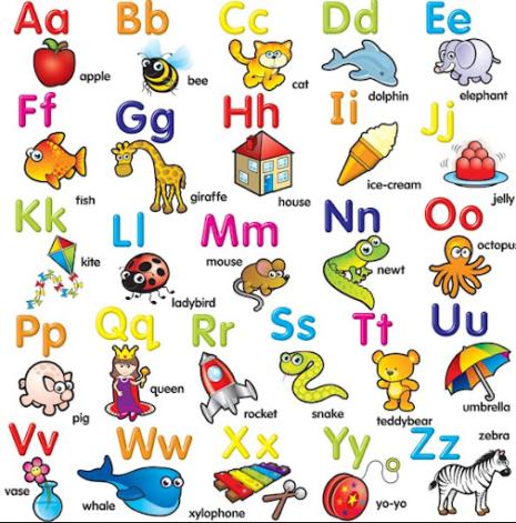 abecedario-animales-ingles