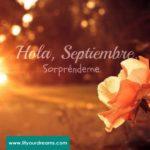 Bonitas imágenes de bienvenido septiembre con frases