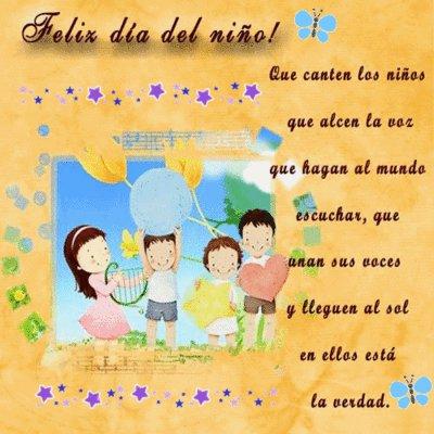 Mensajes Bonitos Del Día Del Niño Para Compartir