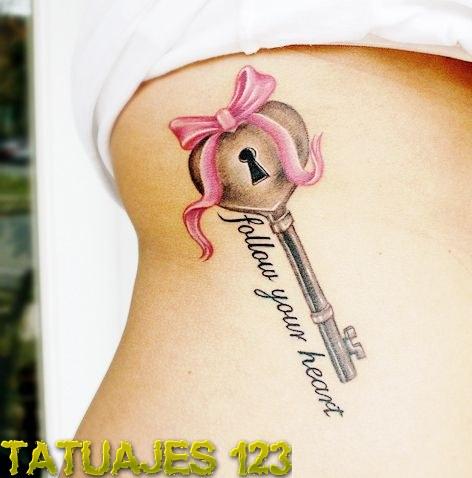 tatuaje-de-llave-con-frase