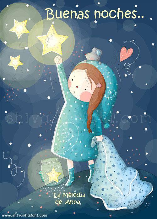 Imagenes bonitas de buenas noches a una amiga