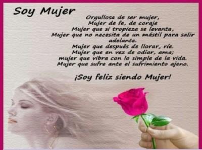 Imagenes Con Frases Bonitas Sobre El Día De La Mujer Para